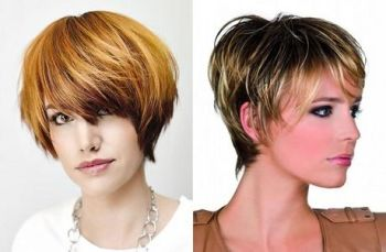 Short hairstyles in 2018