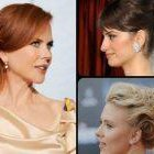 Celebrity updo hairstyles 2019