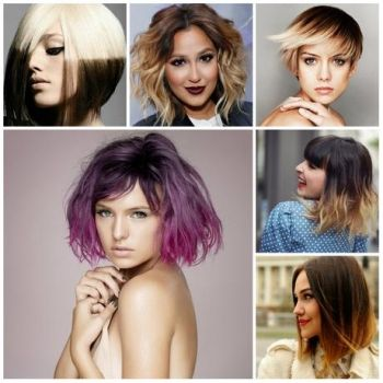 Colour hairstyles 2019