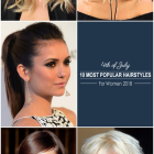 Hairstyles july 2019