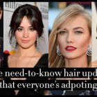 Popular hairstyles in 2019