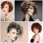 Short and curly hairstyles 2019