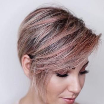 Short hairstyles and color for 2019
