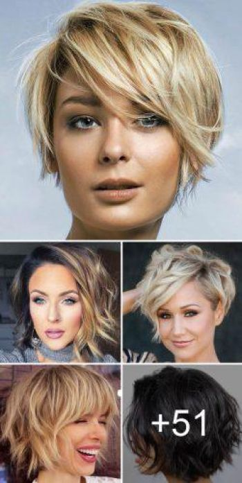 Short hairstyles for ladies 2019