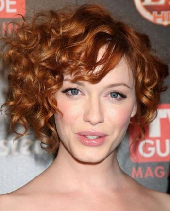 Short hairstyles for natural curly hair 2019