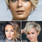 Trendiest short hairstyles 2019
