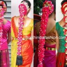 Bridal hairstyle south indian wedding
