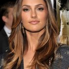 Hairstyle for long layered hair