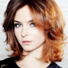 Short to medium length haircuts for wavy hair