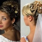 Wedding bridal hairstyle