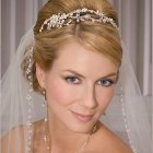 Wedding hair tiaras