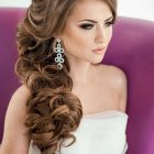 Bridal hairdos for long hair