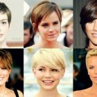 Different pixie hairstyles