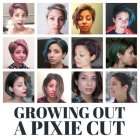 Growing out a pixie cut stages