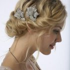 Hairdo for wedding party