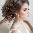 Hairstyle for wedding bride