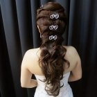 Hairstyle for wedding dinner
