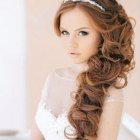 Hairstyle in wedding party