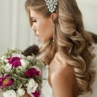 Hairstyle of bridal