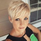 Ladies short pixie hairstyles