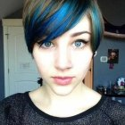 Pixie cut colors