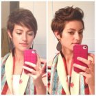 Styling a pixie haircut