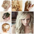 Trendy hairstyles for weddings