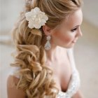 White wedding hairstyles