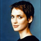 Winona ryder short hair