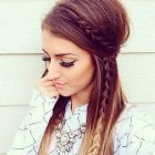 Womans hairstyle