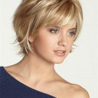 Women hair cut short