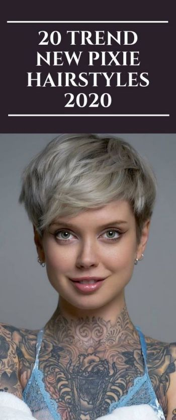 Short hairstyle trends 2020
