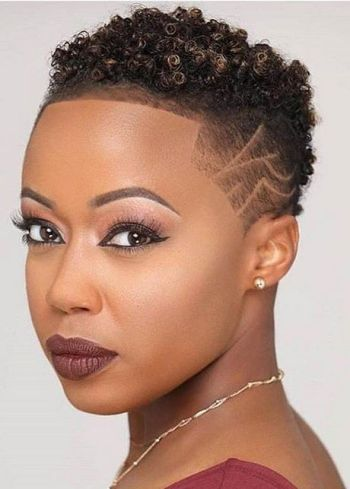 Short hairstyles for black hair 2020
