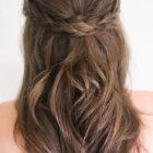 Braided back hairstyles