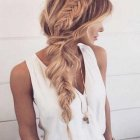 Braids in long hair