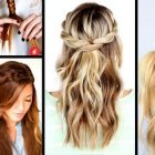 Cute easy braided hairstyles for long hair