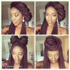 Cute styles for braids