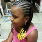 Hair braiding styles for children