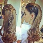 Long hair braid ideas