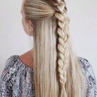 Long hair braids