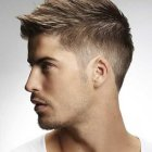 Man hairstyle for short hair