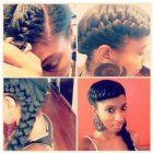 One braid styles