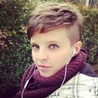 Pixie cut side cut