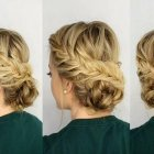 Pretty braided updos