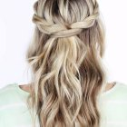 Pretty plait hairstyles