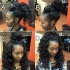 Sew in weave