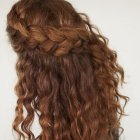 Simple braids for thick hair