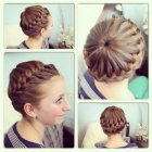 Simple hair braiding styles