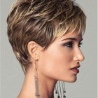 Styling short hair for women