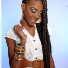 The latest hair braiding styles